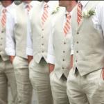 男性の結婚式 服装で夏にベストを着るのは変?!常識は??